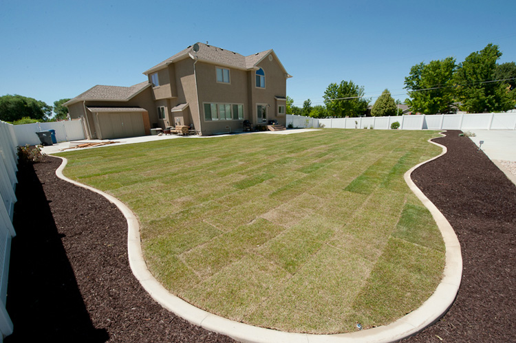 Provo landscaping design edge landscaping for Landscape design utah